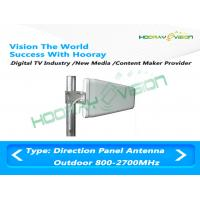 Buy cheap 700-2700 MHz LTE Panel Dual Polarized Directional Antenna 8dBi 2x2 MIMO from wholesalers