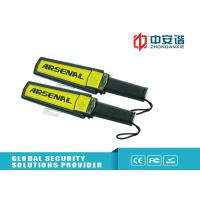 Buy cheap Large Scanning Area Metal Detecting Wand LED Instruction High Sensitivity from wholesalers