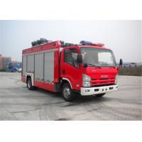 ISUZU Chassis Light Fire Truck 4x2 Drive Type 6705×2200×3210mm Dimension