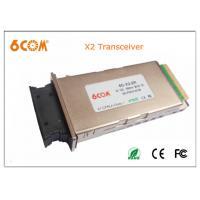 Buy cheap Network SC 10gbase X2 module 1550nm 40KM DDMI , X2 MSA Compliant product