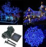 Buy cheap 500 LED Solar Powered Fairy String Light Garden Party Decor Xmas - Blue from wholesalers