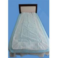 Buy cheap Elastic Four Corner Disposable Bed Sheets Non Woven Protect Against Cross Infection from wholesalers