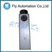 Buy cheap Aluminium Alloy Silver Pneumatic Manual Valve ZK Series 0-60℃ Fluid Temperature from wholesalers