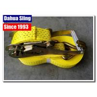 Buy cheap Wire Hooks 50mm Ratchet Tie Down Straps With Heavy Working Load Rainproof from wholesalers