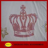 Buy cheap Rhinestone heat transfer for garment from wholesalers