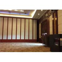 China DIY Fire Resistant Movable On Wheels Wooden Partition Wall For Banquet on sale
