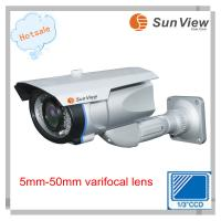Buy cheap SunView CCTV system Sony Effio Waterproof IR 5-50mm varifocal lens cctv camera(SV-BO705VW) from wholesalers