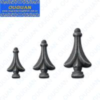 Buy cheap Wrought iron and casted iron spear point for used wrought iron railing from wholesalers