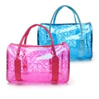 Buy cheap Fashion Summer Clear Beach Bag Waterproof Transparent PVC Cosmetic Makeup Toiletry Storage Bag from wholesalers