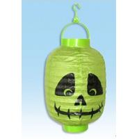 Buy cheap Pure manual section paper lantern of Ireland  Halloween decorations from Wholesalers