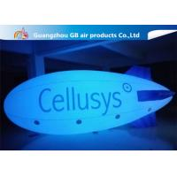 Buy cheap Safe And Environment Inflatable Helium Airplane , Inflatable Zeppelin Balloon product