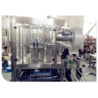 Buy cheap 220v / 380v Auto Carbonated Drink Filling Machine SUS304 For Plastic Bottle from wholesalers