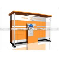 Buy cheap Convenient Express Cabinet Outdoor Advertising Kiosk High Precision And Durability from wholesalers
