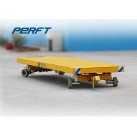 Buy cheap 50t Steel Frame Flat Bed Platform Handling Semi-truck with Non-power from wholesalers