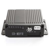 Buy cheap High Performance SD Mobile DVR 4CH Vehicle Transportation Secure System Aid MDVR from wholesalers