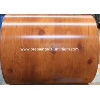 Buy cheap Brick / Wooden Grain Pre Painted Galvalume Sheets , Precoated Galvalume Sheets For Decoration from wholesalers