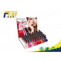 Buy cheap Colorful Printing Cardboard Counter Display Boxes With Holes For Nail Polish from wholesalers