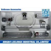 Buy cheap Transparent Bathroom Sanitary Ware Accessories Withcup Holder , Towel Ring , Tower Bar from wholesalers