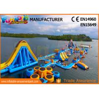 Buy cheap 0.9mm Pvc Tarpaulin Water Park Inflatable Floating Inflatable Water Park Prices from wholesalers