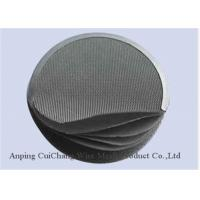 Buy cheap Custom Sintered Stainless Steel Filter Disc With Metal Wire Mesh High Precision from wholesalers