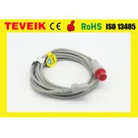 Buy cheap Invasive Blood Pressure Cable Redel 6pin to Merit Adapter for CSI Patient Monitor from wholesalers