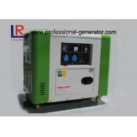 Buy cheap 50Hz / 60Hz Air Cooling 4 Stroke 5.5kw Diesel Driven Generator Good Performance product
