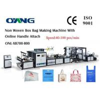 Buy cheap High Efficiency Automatic Non Woven Box Bag Making Machine from wholesalers