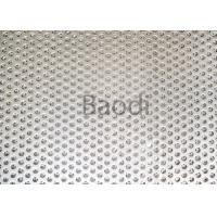 Buy cheap Architecture / Building Perforated Steel Sheet  With Low Carbon Iron Raw Material from wholesalers