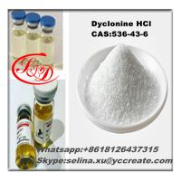 Buy cheap Pharmaceutical Raw Materials Steroid Dyclonine Hydrochloride CAS 536-43-6 for Health Care from wholesalers