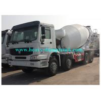 Buy cheap HOWO Drum mixer concrete truck 16cbm , Concrete transport Truck with Imported pump from wholesalers