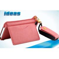Buy cheap Magnetic Apple iPhone Leather Cases , Wallet Pink iPhone 5G / 5C Wallet case from wholesalers