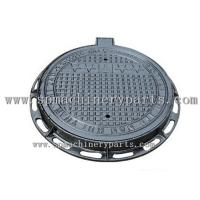 Buy cheap Highest quality Cast Iron (Grey) 1.81 X 11.81 clear opening D400 Class Circular manhole covers from wholesalers