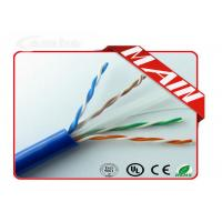 Buy cheap Ethernet Patch Cable UL Listed Bulk 23AWG , Pure Copper Pull Box UTP Cat6 Network Cable from wholesalers