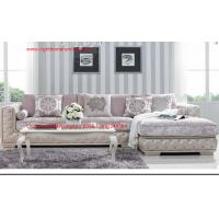 Buy cheap Luxury Fabric Sofa set in 1+2+3 seat used Rubber wood frame and Plywood with from wholesalers