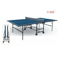 Full size table tennis table with blue top steel - Full size table tennis table dimensions ...