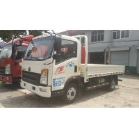 Buy cheap 10T HOWO 4x2 Euro3 Light Cargo Truck Left Hand Drive With AC from wholesalers