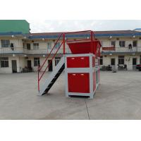 Buy cheap Large Scale Food Waste Shredder , Customized Industrial Cardboard Shredder Low Noise from wholesalers