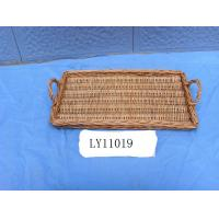Buy cheap willow tray  001 from wholesalers
