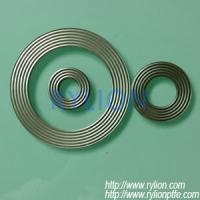 Buy cheap Corrugated metal gasket,thickness 0.5mm and 2mm and 3mm,material SS304 or SS316 from wholesalers