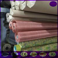 Buy cheap 0.05mm Wire Diameter 180 Mesh Copper Mesh Fabric in stock made inchina from wholesalers