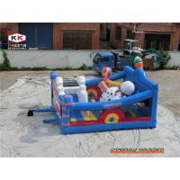 Buy cheap CE Inflatable Bouncer Quadruple PVC Toy , Ice cream Inflatable Castle Combo Bouncers from wholesalers