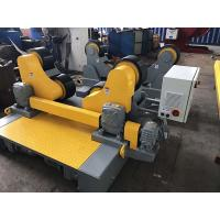 Buy cheap Self - Aligning Pressure Vessel Pipe Welding Rollers With Motorized Travel from wholesalers