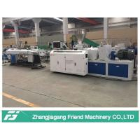 China Blue Color Plastic Pipe Machine For UPVC Electrical Pipe Making Lower Consumption on sale