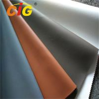 Buy cheap Waterproof  PVC Synthetic Leather , Upholstery PVC Leather 0.6mm - 1.2mm Thickness product