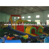 Buy cheap Commerical Use Inflatable Obstacle Course For Party Rental from wholesalers