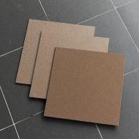 Buy cheap 30X30 Cm Salt And Pepper Porcelain Tiles Non Slip Coffee / Chocolate Color product