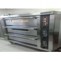 Buy cheap Stainless Steel Door Electric Baking Oven 3 Deck 15 Trays Stone Deck Oven from wholesalers