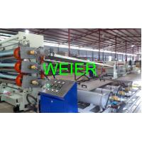 Buy cheap Single Screw Plastic PMMA Sheet Extrusion Line Making Machine , Thickness 1 - 10mm from wholesalers