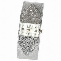 Buy cheap Bangle Cuff Bracelet Watch, Alloy Case and Band, Stylish and Novelty from wholesalers