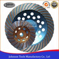 Buy cheap Turbo Type 125mm Grinding Wheel , Surface Grinding Wheels For Hard Granite from wholesalers
